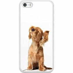 Apple iPhone 5 / 5s / SE Soft Case (Frostad) Hund