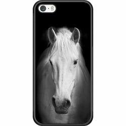 Apple iPhone 5 / 5s / SE Soft Case (Svart) Häst