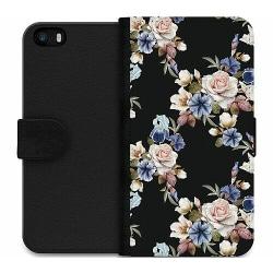 Apple iPhone 5 / 5s / SE Wallet Case Blommor