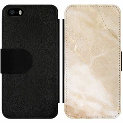 Apple iPhone 5 / 5s / SE Wallet Slim Case More Marble