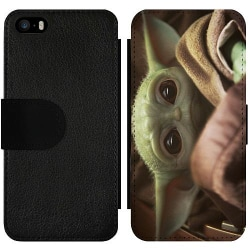 Apple iPhone 5 / 5s / SE Wallet Slim Case Baby Yoda