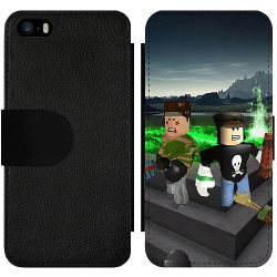 Apple iPhone 5 / 5s / SE Wallet Slim Case Roblox