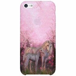 Apple iPhone 5c Thin Case Unicorn