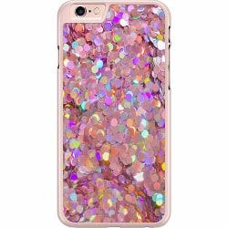 Apple iPhone 6 / 6S Hard Case (Transparent) Glitter