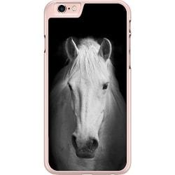 Apple iPhone 6 / 6S Hard Case (Transparent) Vit Häst
