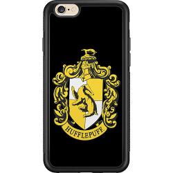 Apple iPhone 6 / 6S Soft Case (Svart) Harry Potter - Hufflepuff