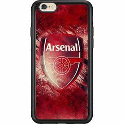 Apple iPhone 6 / 6S Soft Case (Svart) Arsenal Football