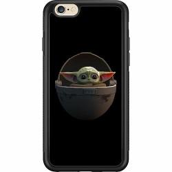 Apple iPhone 6 / 6S Soft Case (Svart) Baby Yoda