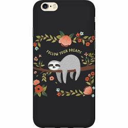 Apple iPhone 6 / 6S Thin Case Sloth of wisdom