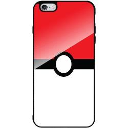 Apple iPhone 6 Plus / 6s Plus Svart Mobilskal med Glas Pokémon