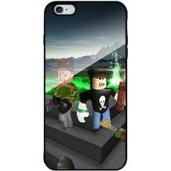 Apple iPhone 6 Plus / 6s Plus Svart Mobilskal med Glas Roblox
