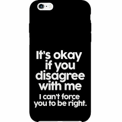 Apple iPhone 6 Plus / 6s Plus Thin Case Text
