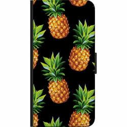 Apple iPhone X / XS Fodralväska Ananas