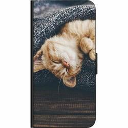 Samsung Galaxy A20s Fodralväska Cozy Kitty