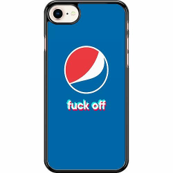 Apple iPhone 7 Hard Case (Svart) Fuck Off