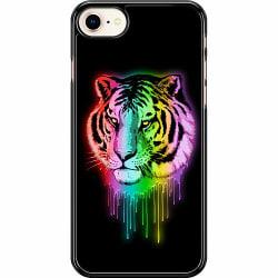 Apple iPhone 7 Hard Case (Svart) Tiger