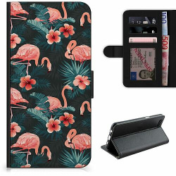 Apple iPhone 12 Pro Lyxigt Fodral Flamingo Fever