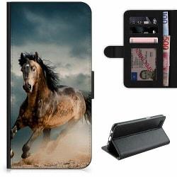 Apple iPhone 7 Plus Lyxigt Fodral Häst