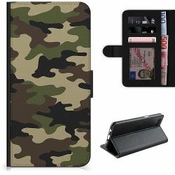 Samsung Galaxy A20s Lyxigt Fodral Militär