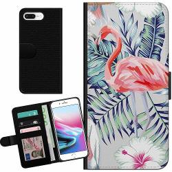Apple iPhone 7 Plus Billigt Fodral Flamingo