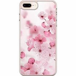 Apple iPhone 7 Plus Hard Case (Transparent) Cherry Blossom