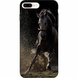Apple iPhone 7 Plus Mjukt skal - Häst / Horse