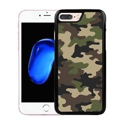 Apple iPhone 7 Plus Soft Case (Svart) Militär