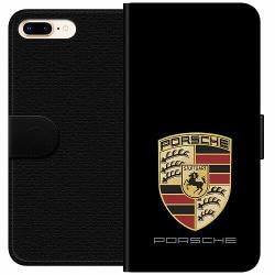 Apple iPhone 7 Plus Wallet Case Porsche