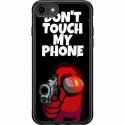 Apple iPhone 7 Soft Case (Svart) Among Us