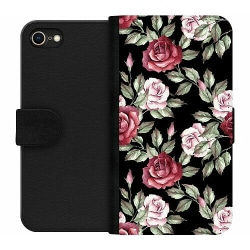 Apple iPhone 8 Wallet Case Blommor