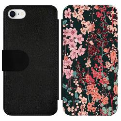 Apple iPhone 7 Wallet Slim Case Herbaceous Retro