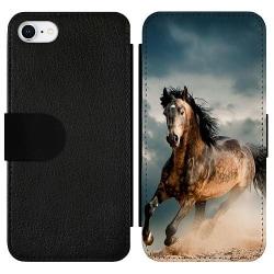 Apple iPhone 7 Wallet Slim Case Häst