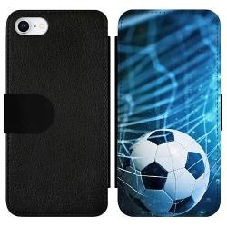 Apple iPhone 7 Wallet Slimcase Fotboll