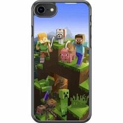 Apple iPhone 8 Hard Case (Transparent) MineCraft