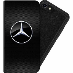 Apple iPhone 8 Magnetic Wallet Case Mercedes