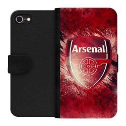 Apple iPhone 8 Wallet Case Arsenal Football