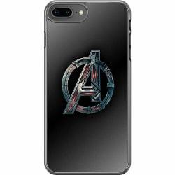 Apple iPhone 8 Plus Hard Case (Transparent) Avengers
