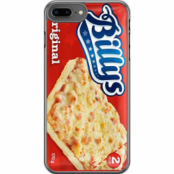 Apple iPhone 8 Plus Hard Case (Transparent) Pizza