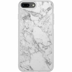 Apple iPhone 8 Plus Soft Case (Frostad) Marmor