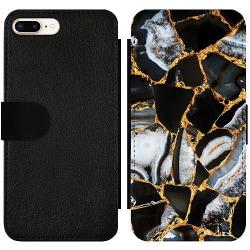 Apple iPhone 7 Plus Wallet Slim Case Onyx