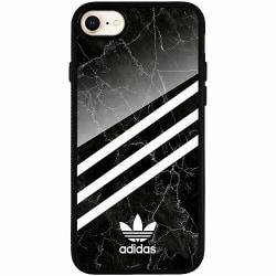 Apple iPhone 7 Svart Mobilskal med Glas Fashion
