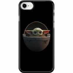 Apple iPhone SE (2020) Hard Case (Svart) Baby Yoda