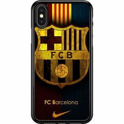 Apple iPhone X / XS Hard Case (Svart) FC Barcelona
