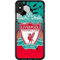 Apple iPhone X / XS Hard Case (Svart) Liverpool