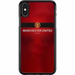 Apple iPhone X / XS Hard Case (Svart) Manchester United