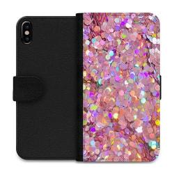 Apple iPhone XS Max Wallet Case Glitter