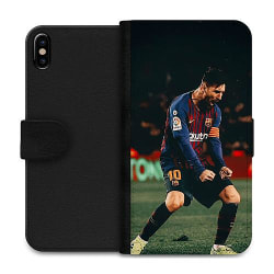 Apple iPhone XS Max Wallet Case Messi