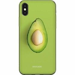 Apple iPhone X / XS Mjukt skal - Avocado
