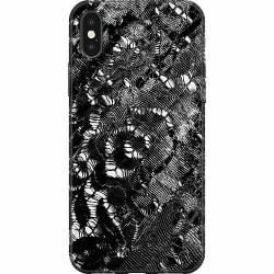 Apple iPhone XS Max Mjukt skal - Black Corset