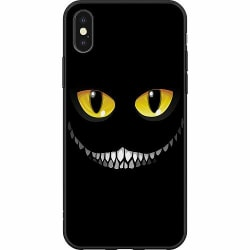 Apple iPhone XS Max Mjukt skal - Eyes In The Dark Black